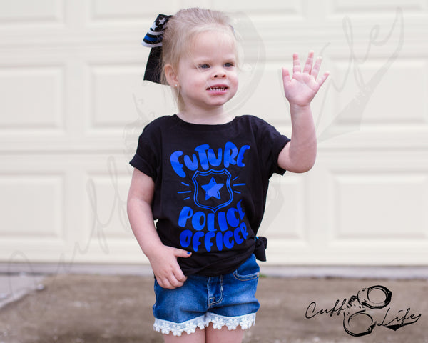 Future Police Officer - Toddler/Youth T-Shirt