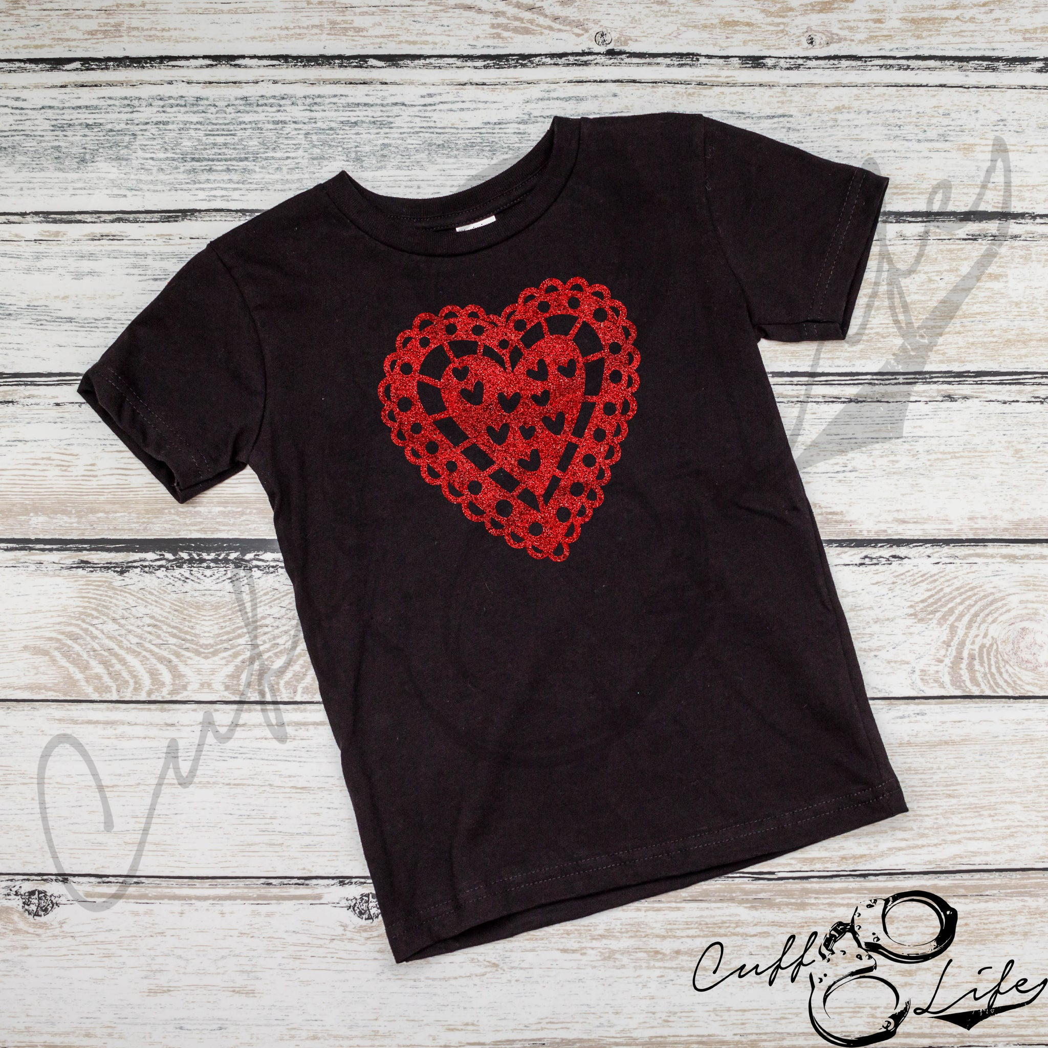 Glitter Heart - Toddler/Youth T-Shirt