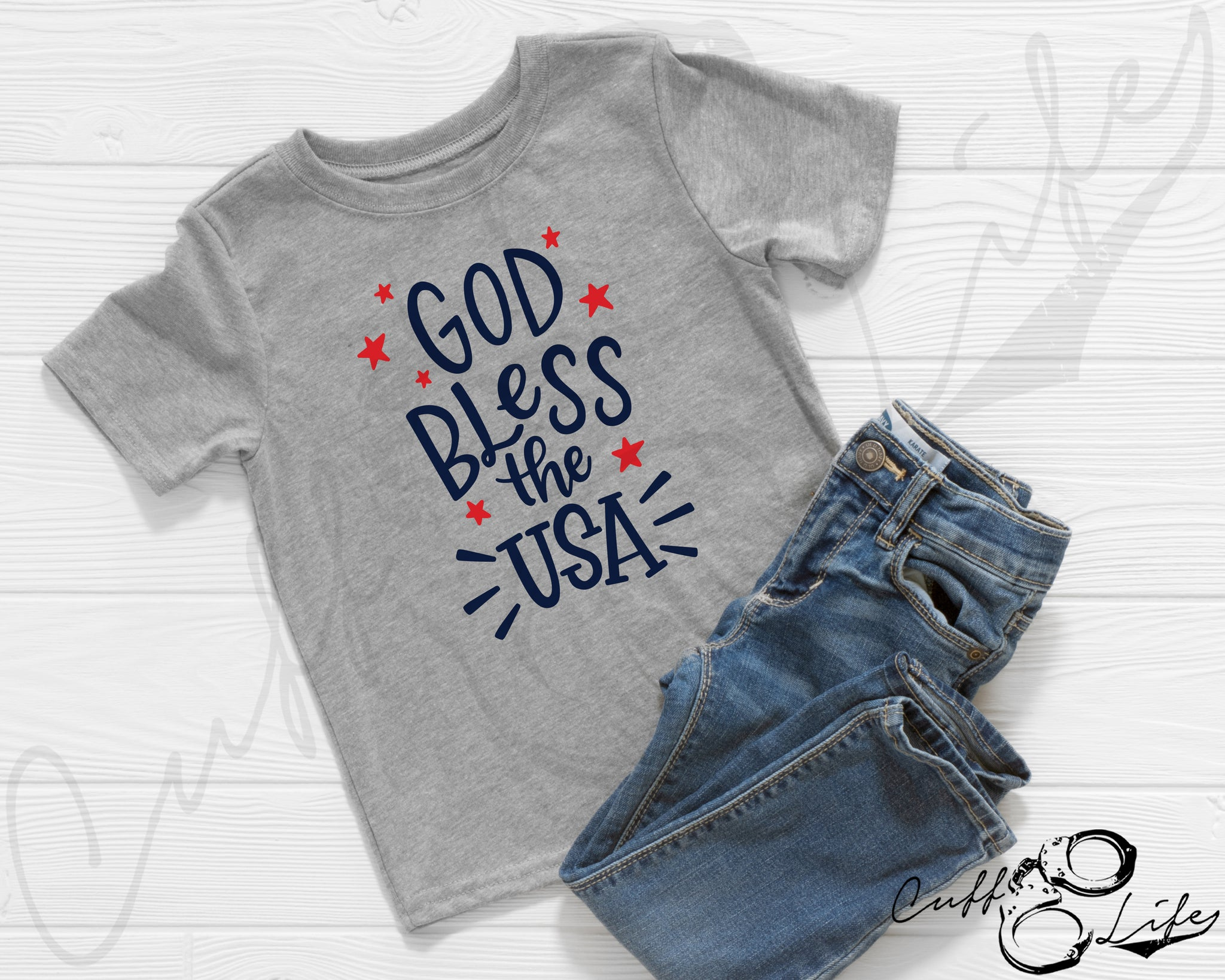 God Bless the USA - Toddler/Youth T-Shirt