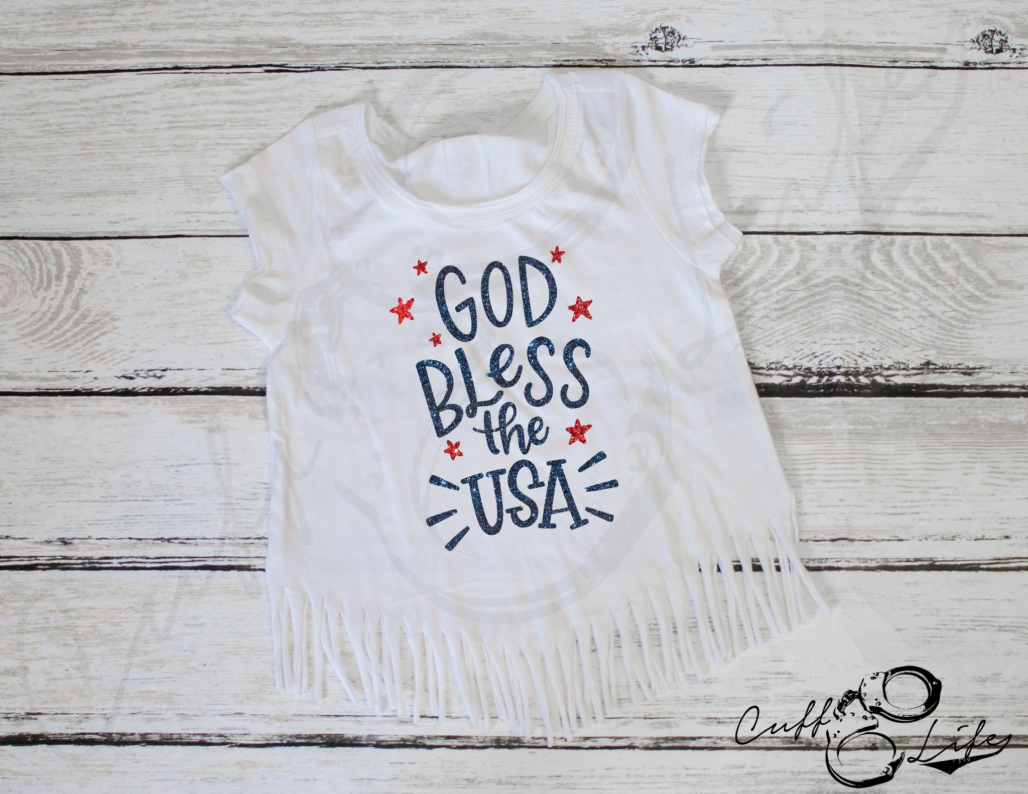 God Bless the USA - Fringe Tee