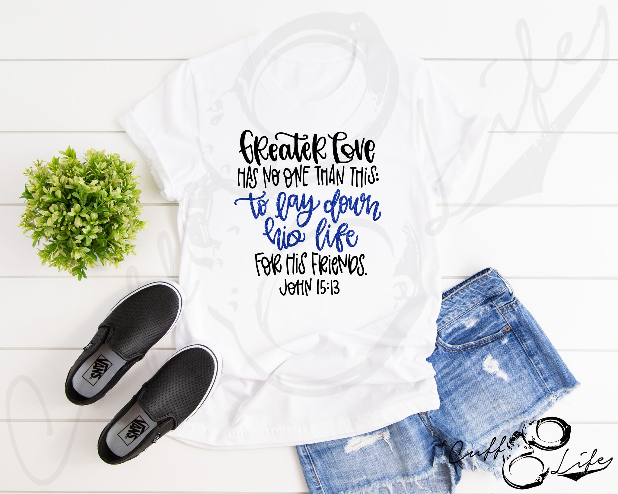 Greater Love Has No One Than This TBL - Unisex T-Shirt