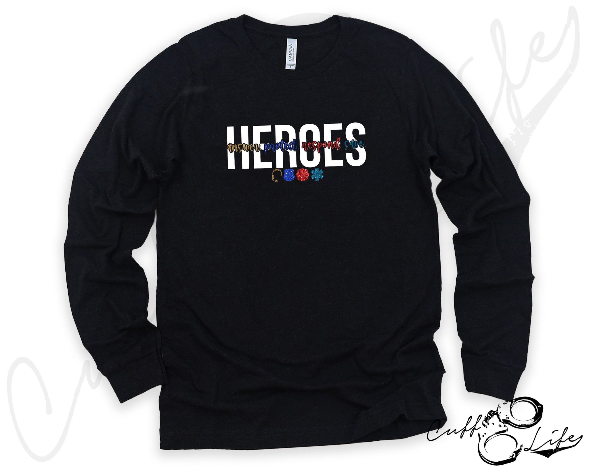 HEROES © - Long Sleeve Tee