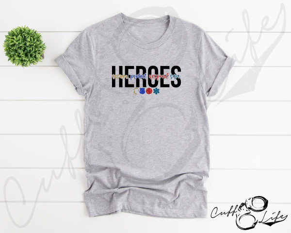 HEROES © - Unisex T-Shirt