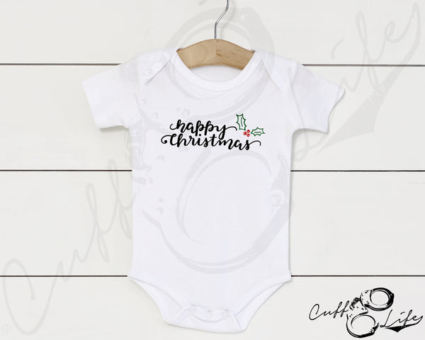 Happy Christmas - Infant Bodysuit