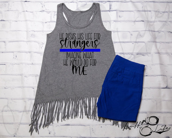 He Risks His Life for Strangers TBL - Fringe Tank