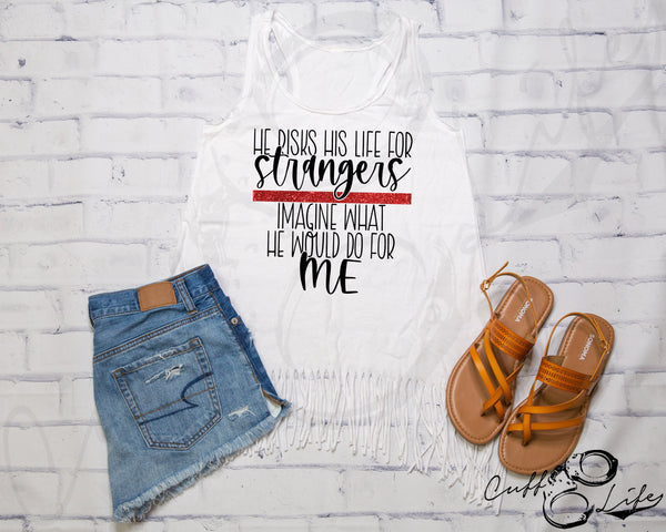 He Risks His Life for Strangers TRL - Fringe Tank
