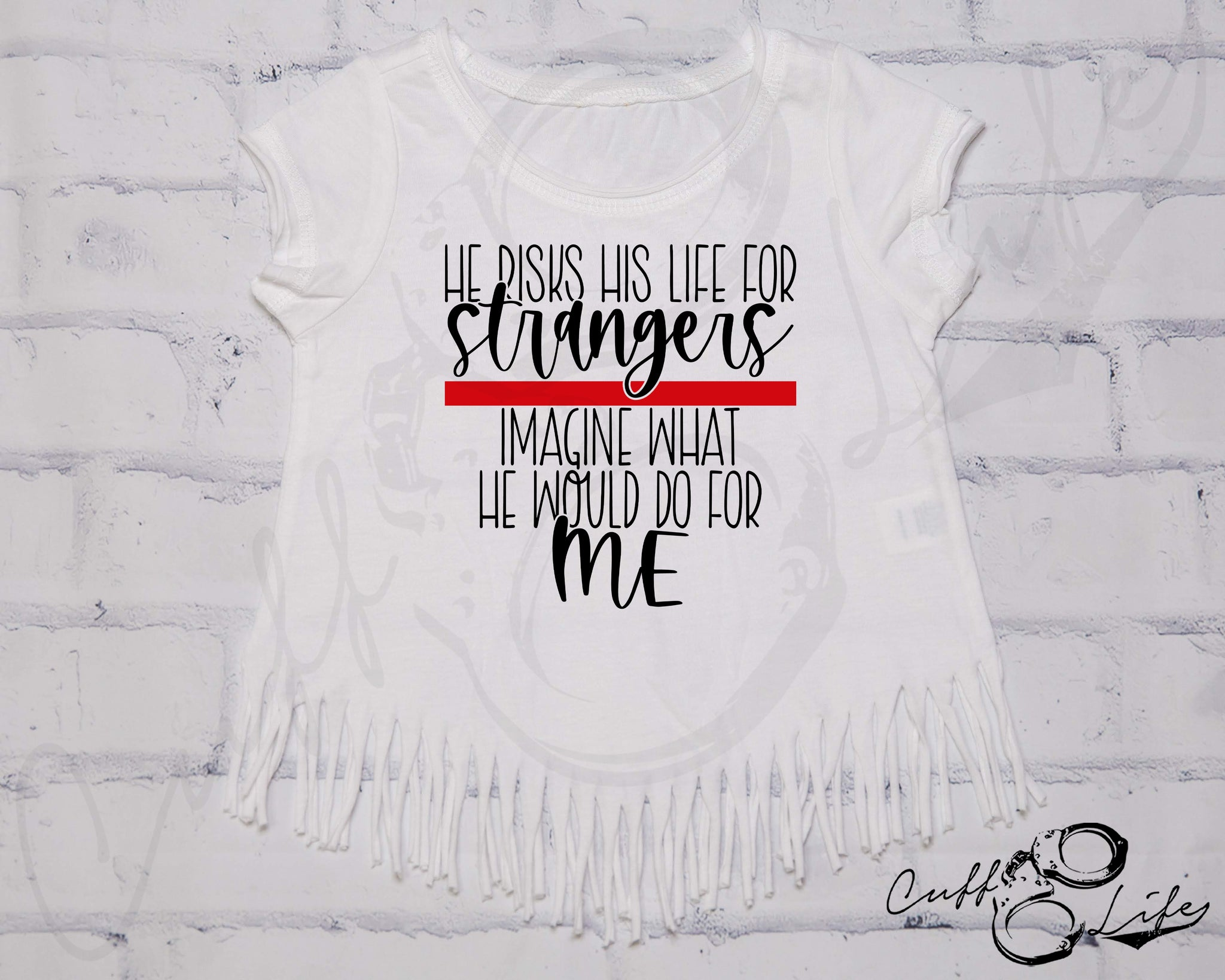 He Risks His Life for Strangers TRL - Fringe Tee
