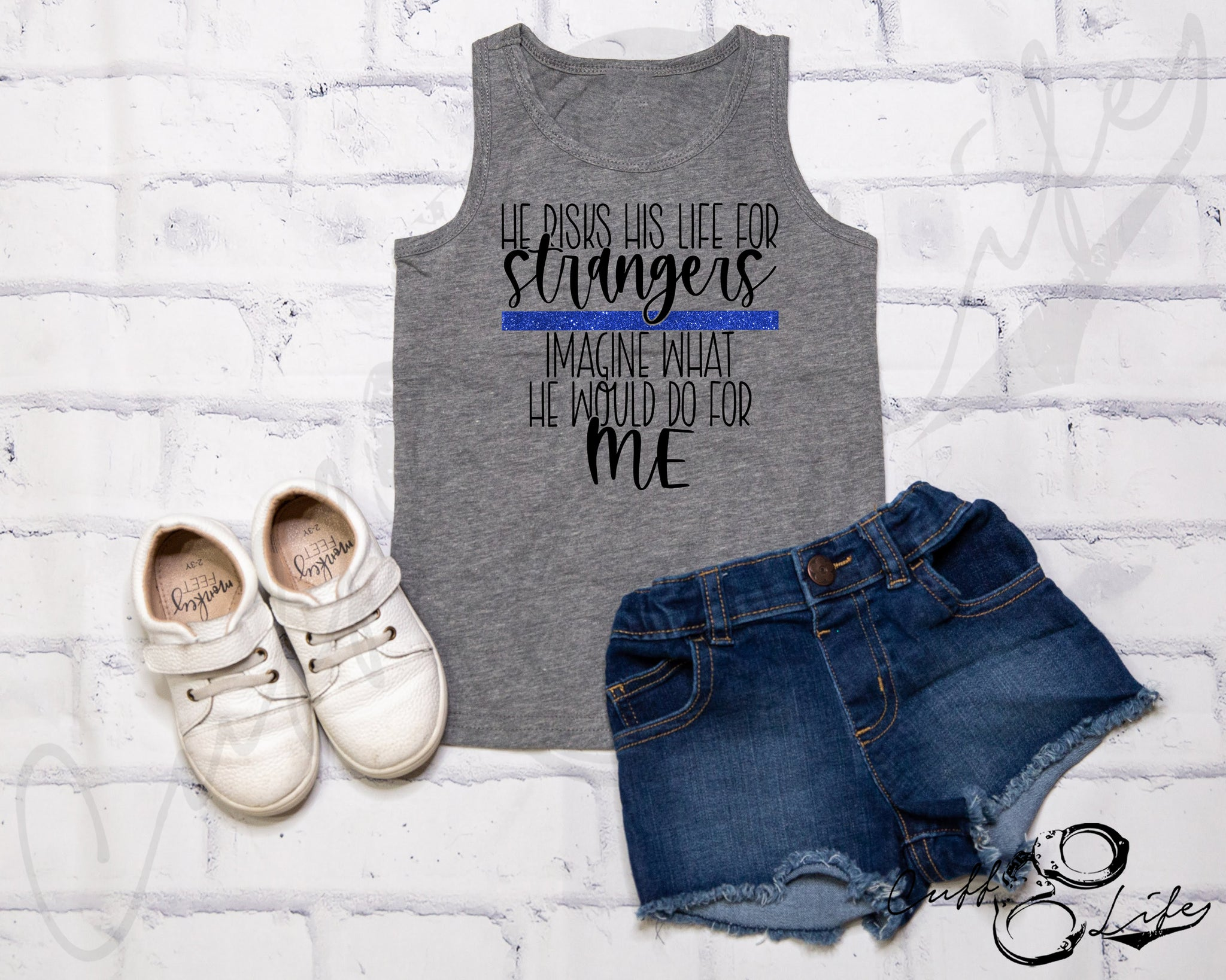 He Risks His Life for Strangers TBL - Tank Top