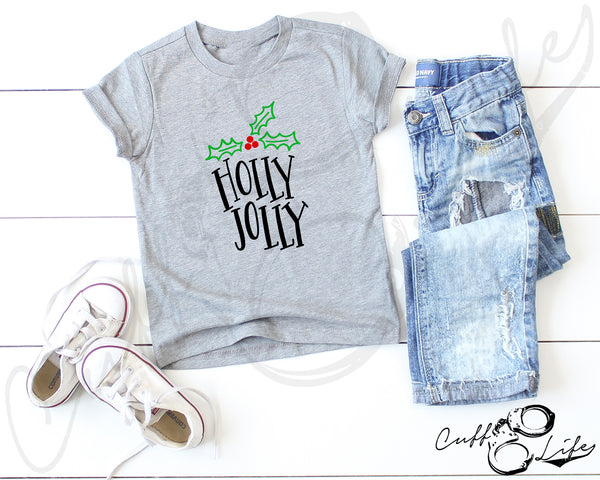 Holly Jolly - Toddler/Youth T-Shirt