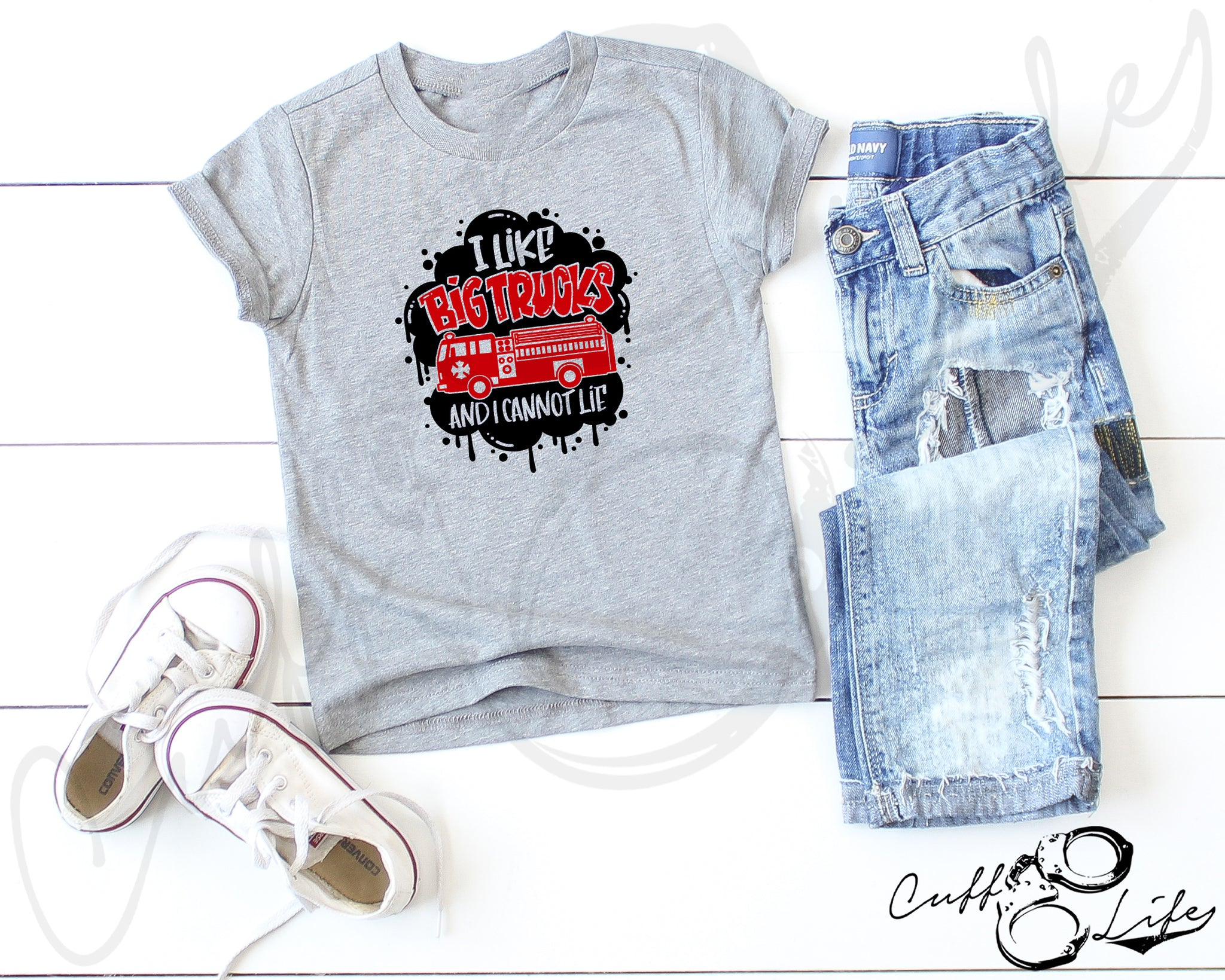 I Like Big Trucks © - Toddler/Youth T-Shirt