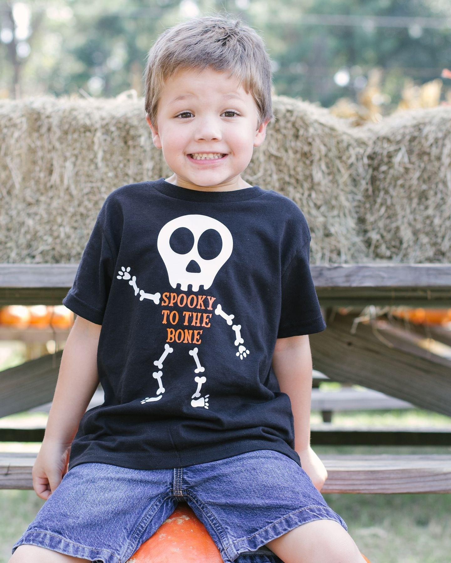 Spooky To The Bone - Toddler/Youth T-Shirt