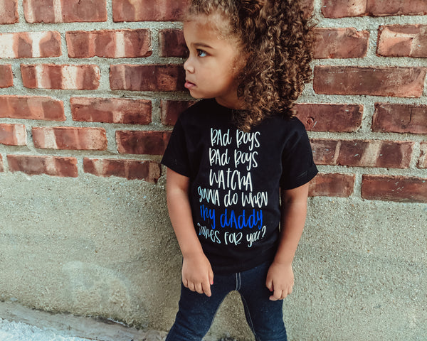Bad Boys, Bad Boys - Toddler/Youth T-Shirt