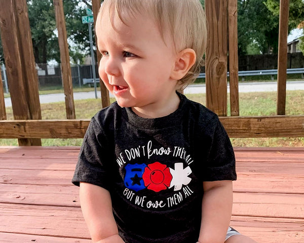 We Don't Know Them All But We Owe Them All - Toddler/Youth T-Shirt