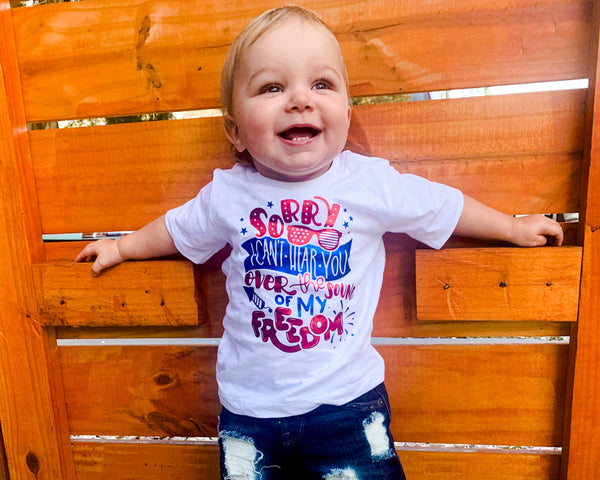 Sorry, I Can't Hear You - Toddler/Youth T-Shirt