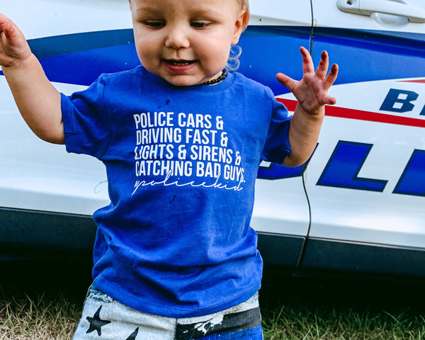 Police Kid - Toddler/Youth T-Shirt