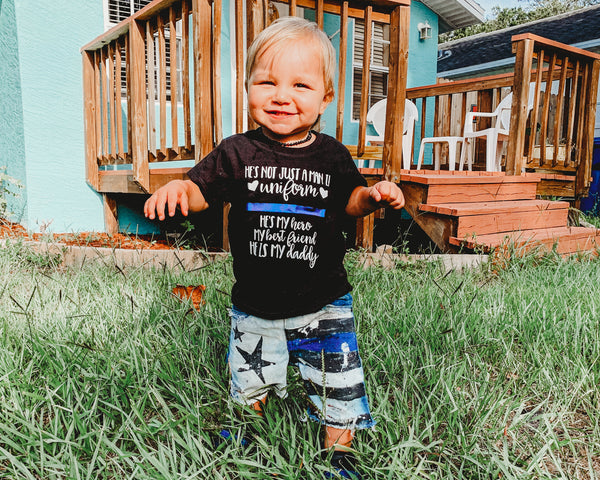 He's Not Just A Man in Uniform © - Toddler/Youth T-Shirt