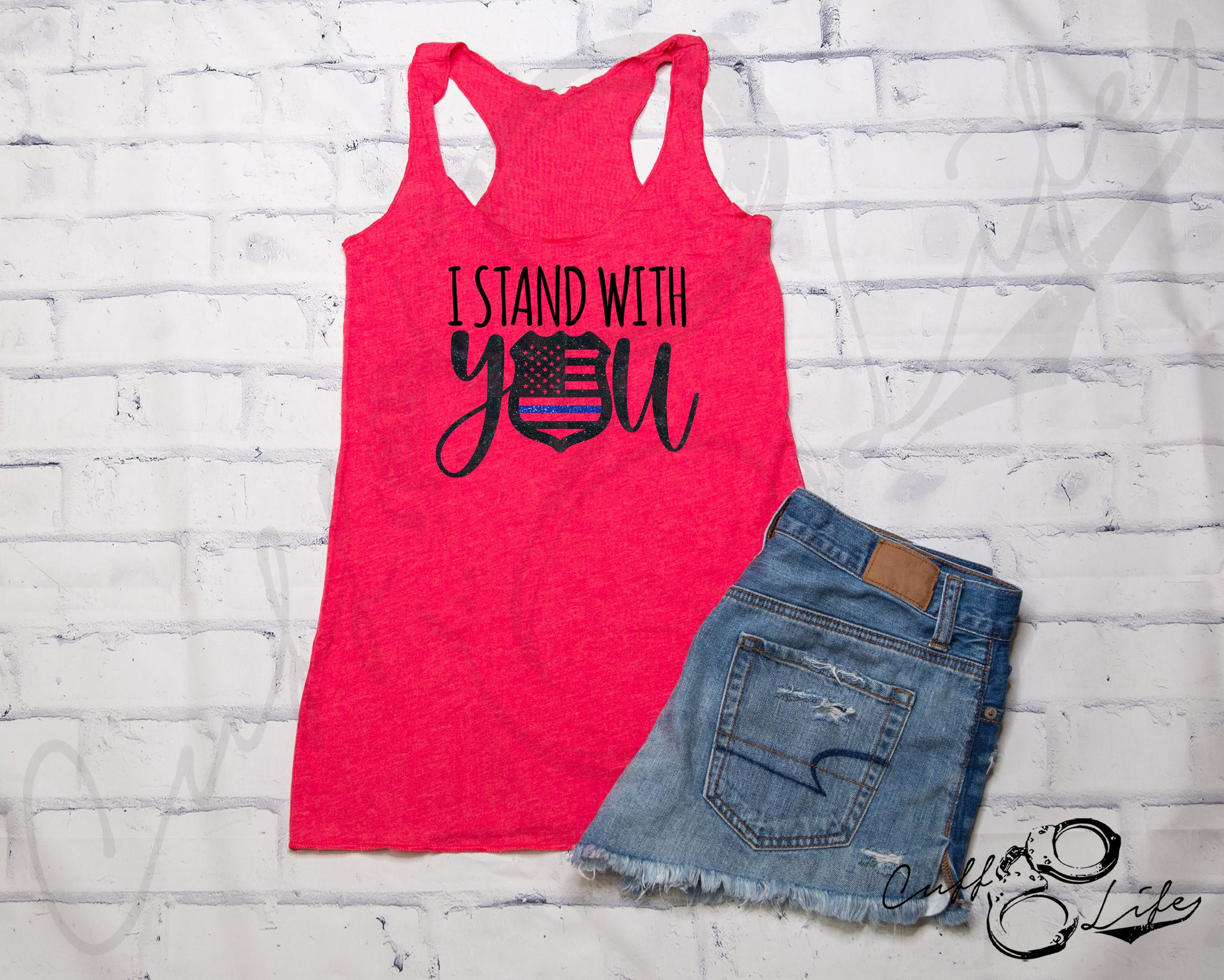 I Stand With You © - Racerback Tank
