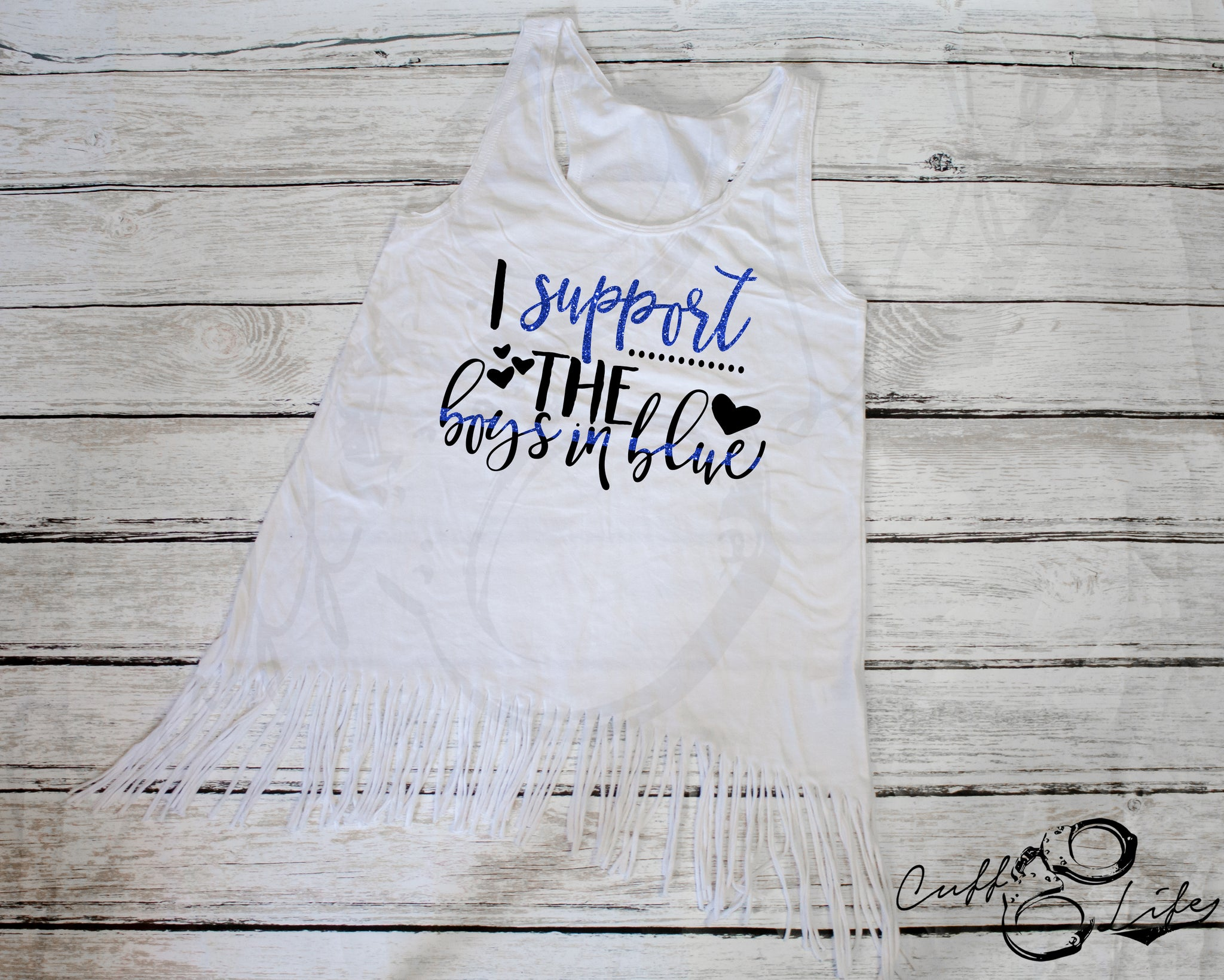 I Support the Boys in Blue © - Fringe Tank