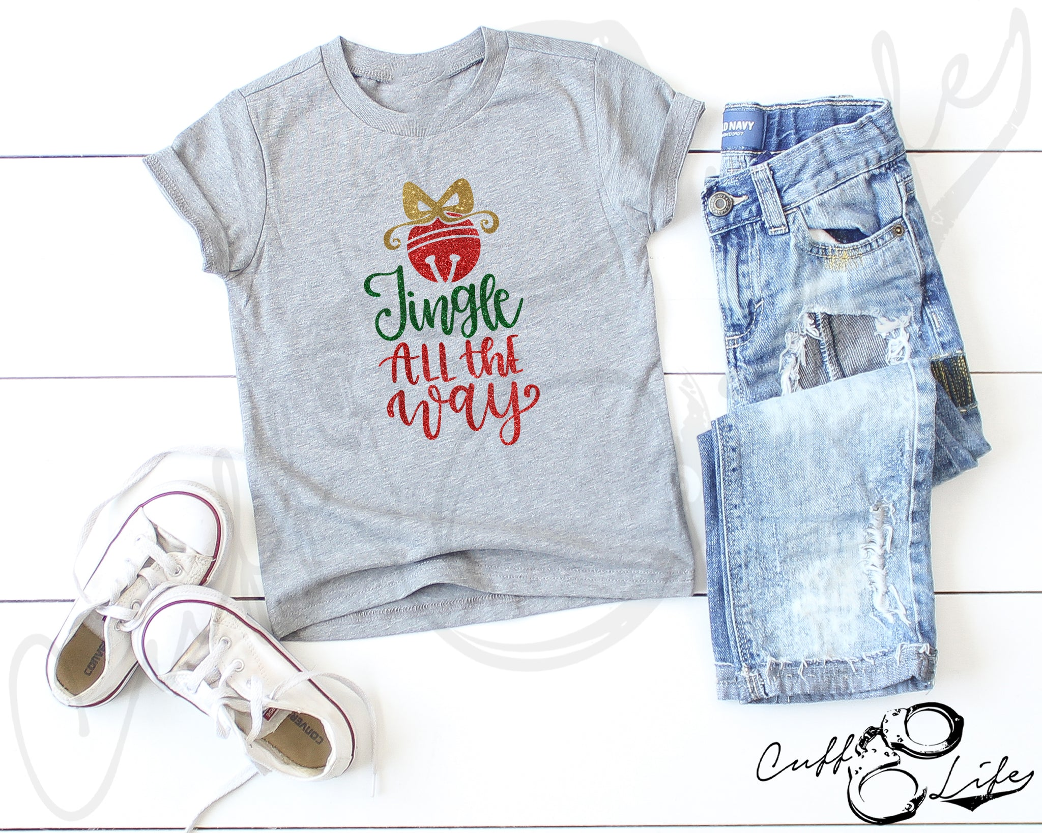 Jingle All The Way - Toddler/Youth T-Shirt