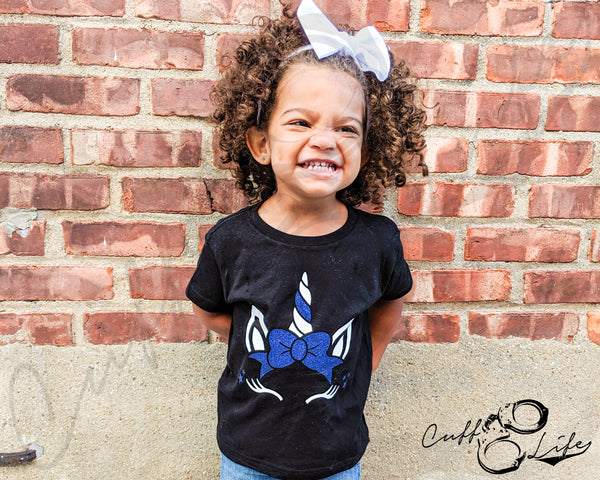 Thin Blue Line Unicorn - Toddler/Youth T-Shirt