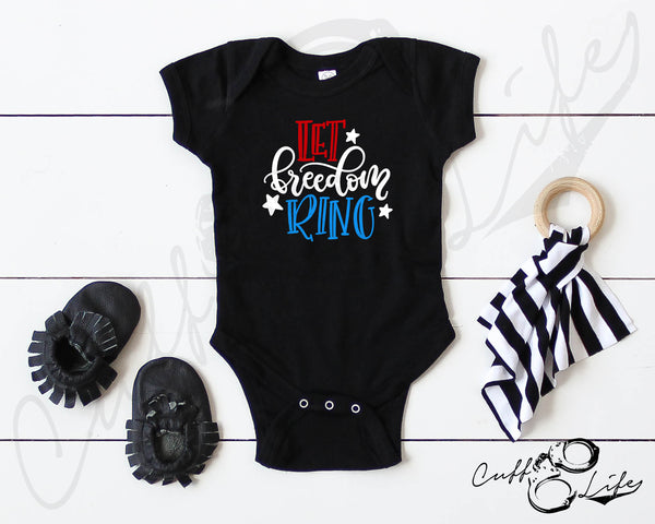 Let Freedom Ring - Infant Bodysuit