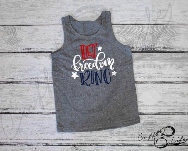 Let Freedom Ring - Toddler/Youth Tank