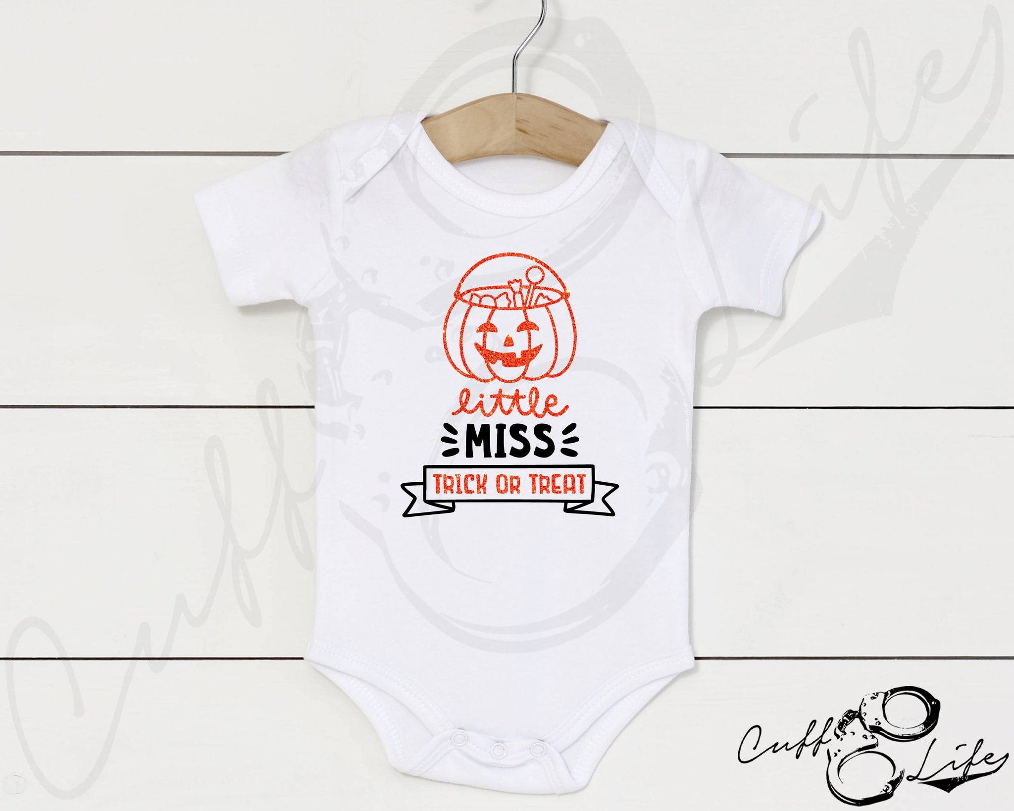 Little Miss Trick or Treat - Infant Bodysuit