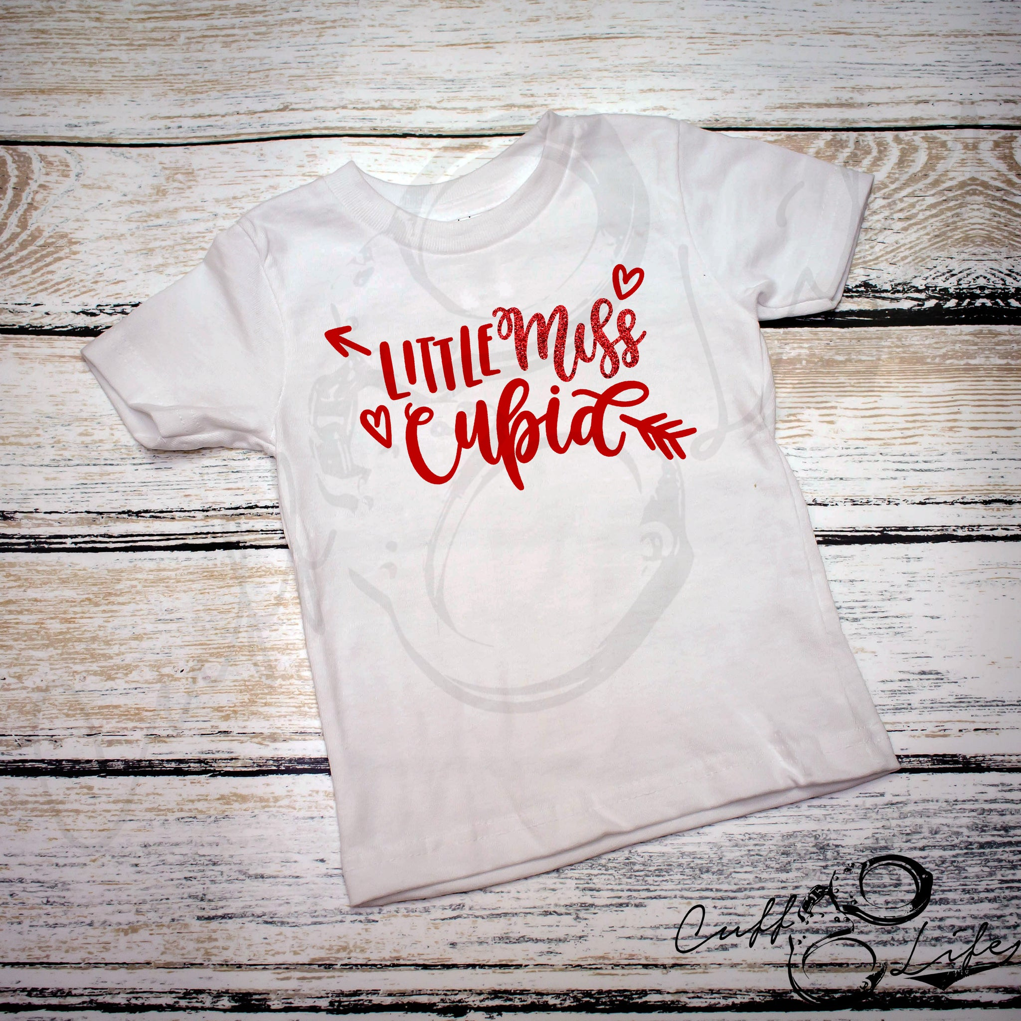 Little Miss Cupid - Toddler/Youth T-Shirt