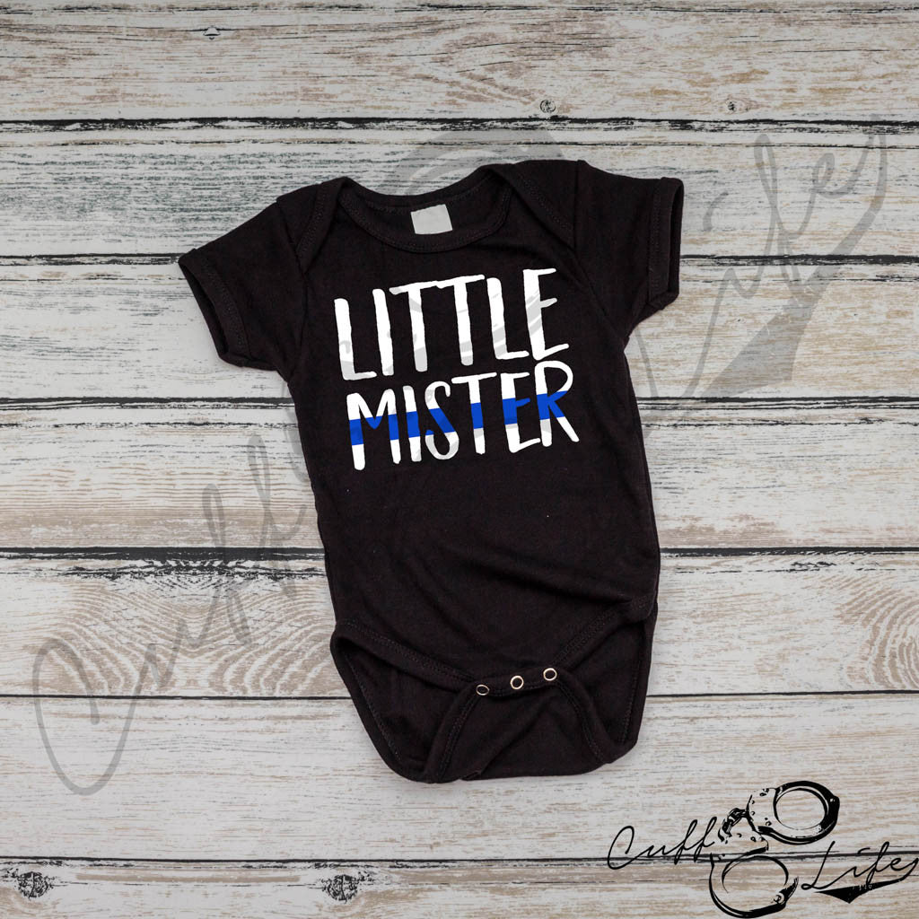 Little Mister - Thin Blue Line - Infant Bodysuit