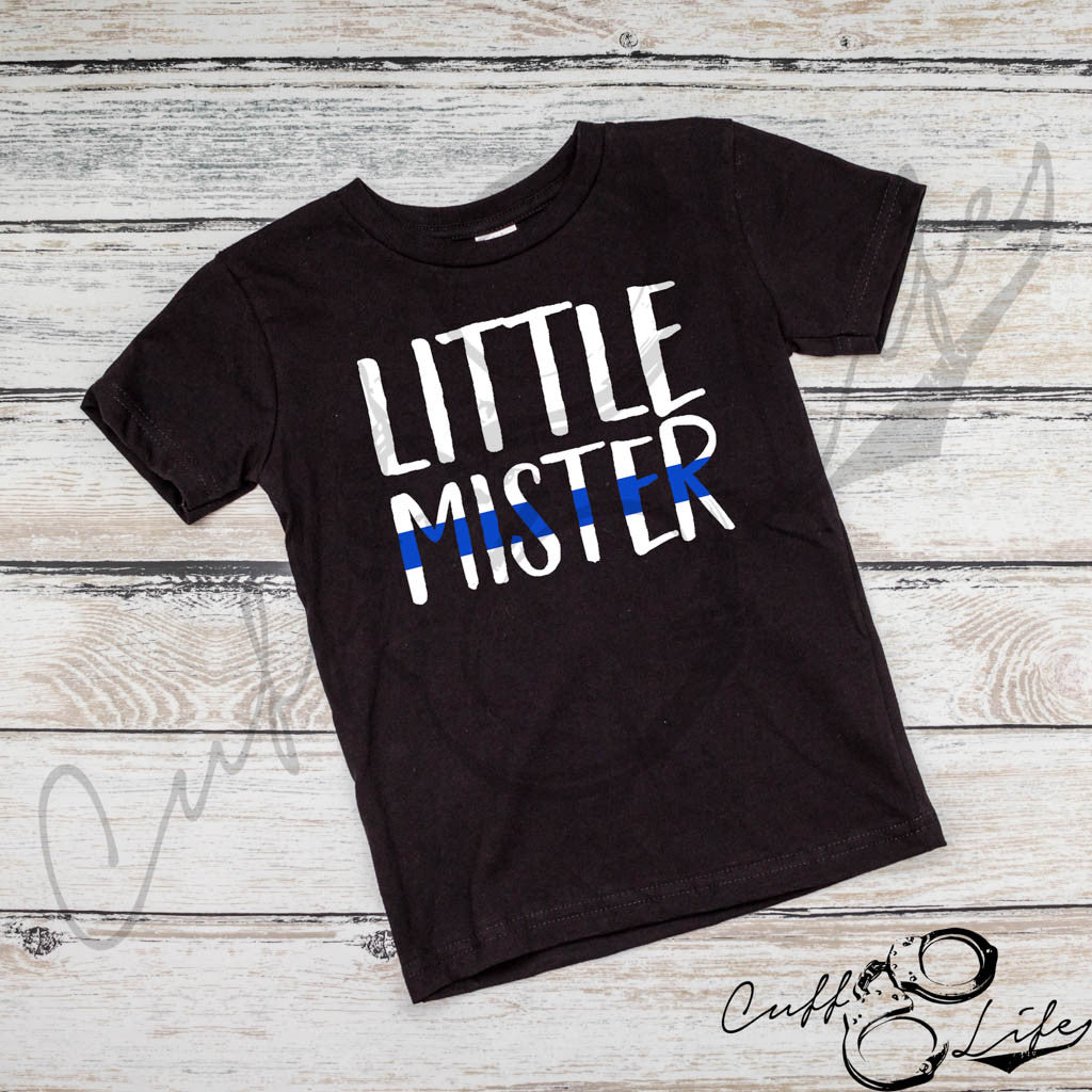 Little Mister Thin Blue Line - Toddler/Youth T-Shirt