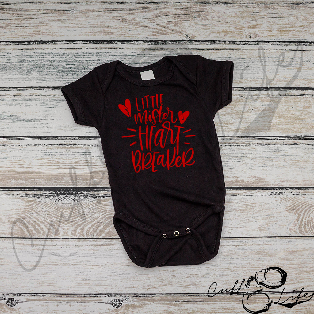 Little Mister Heart Breaker - Infant Bodysuit