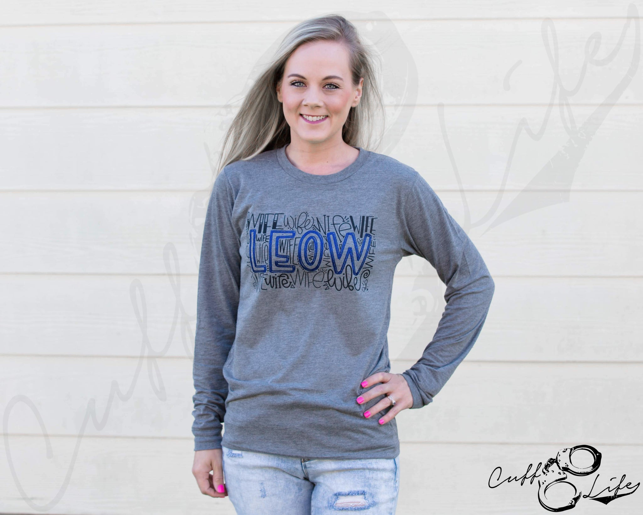 LEOW Typography - Long Sleeve Tee