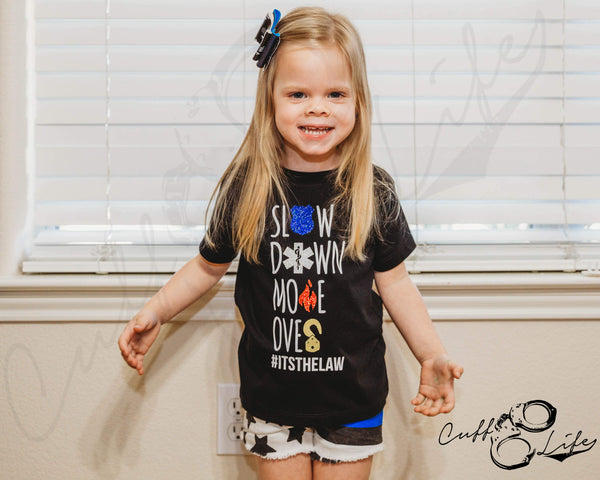 Slow Down Move Over - Toddler/Youth T-Shirt
