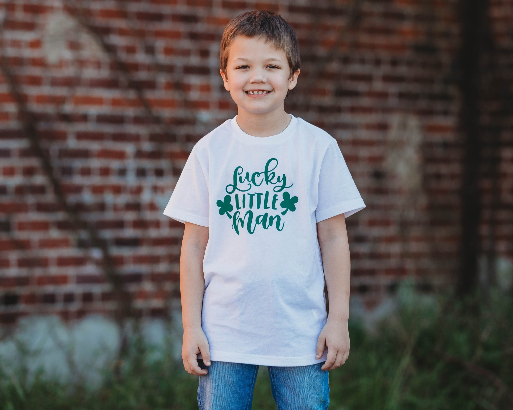 Lucky Little Man - Toddler/Youth T-Shirt