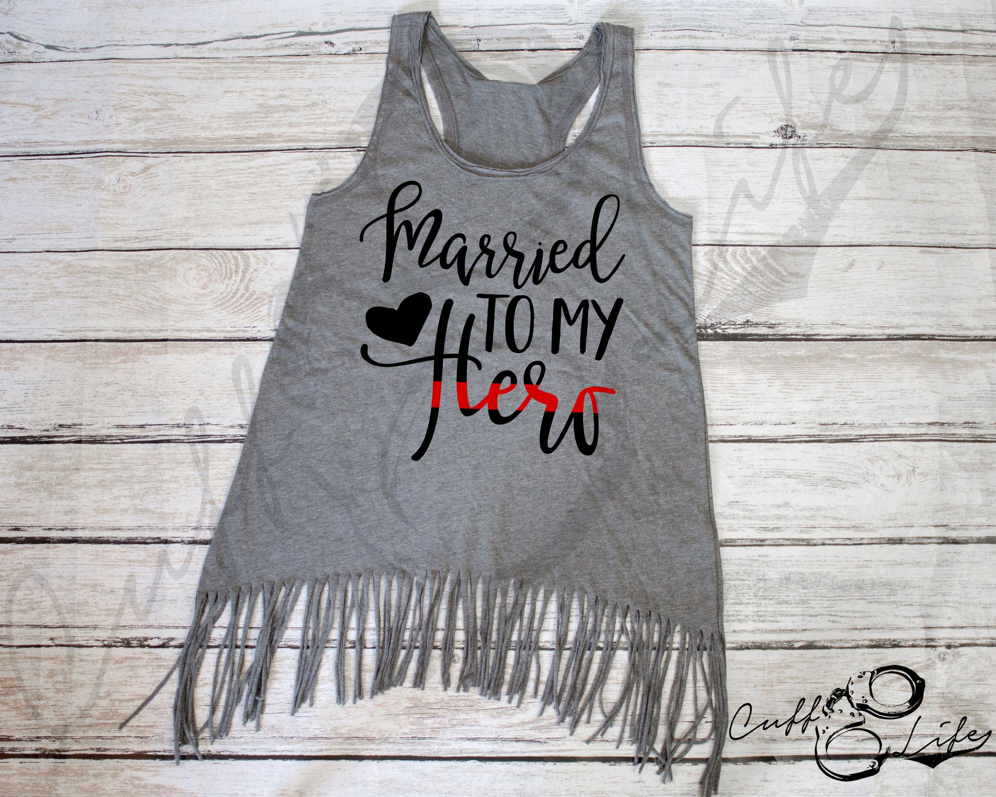 Married to My Hero TRL © - Fringe Tank