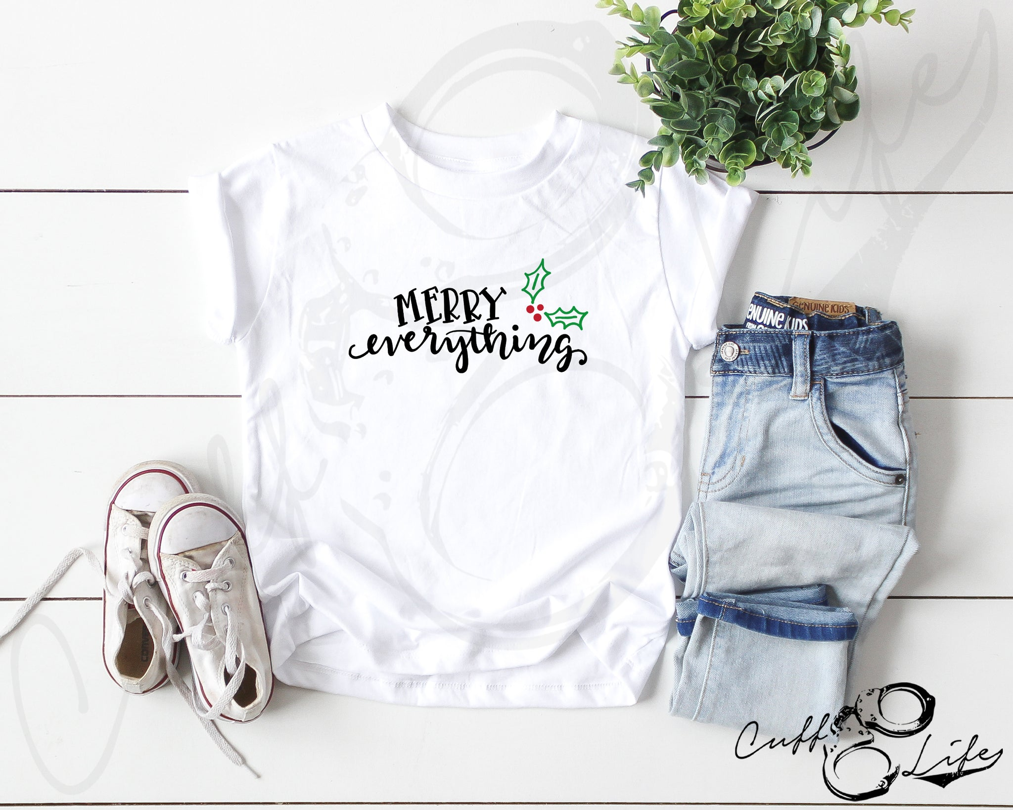 Merry Everything - Toddler/Youth T-Shirt