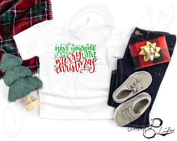 Merry Little Christmas - Toddler/Youth T-Shirt