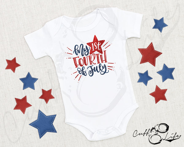 My 1st Fourth of July - Infant Bodysuit