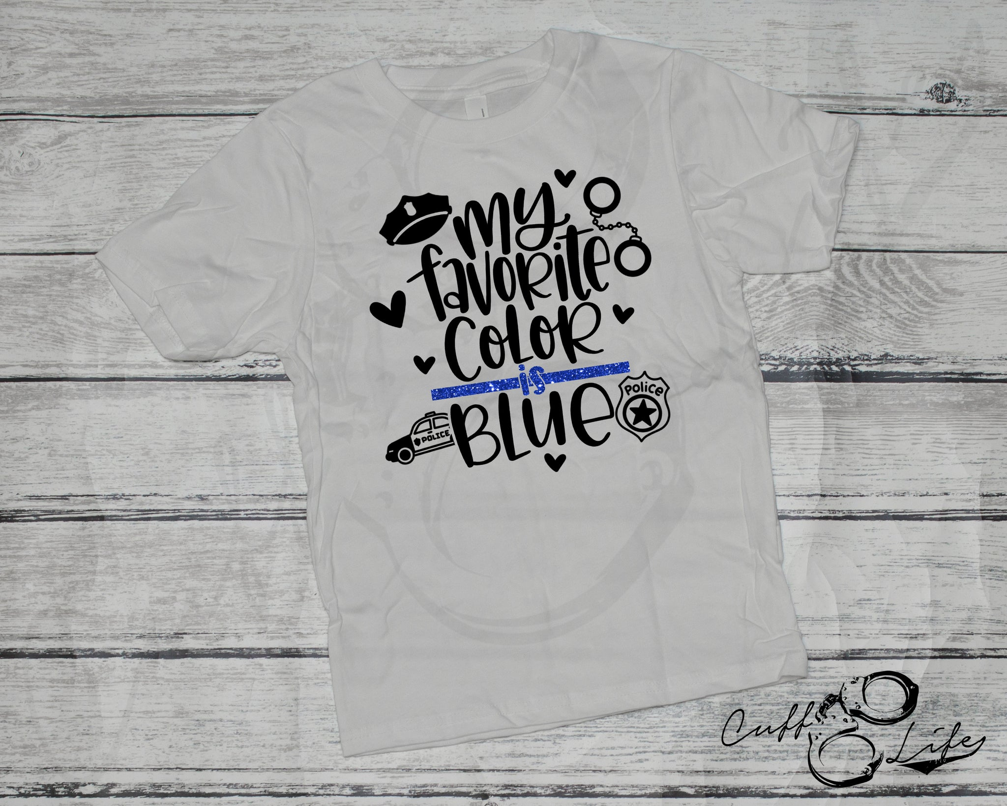 My Favorite Color is Blue - Toddler/Youth T-Shirt