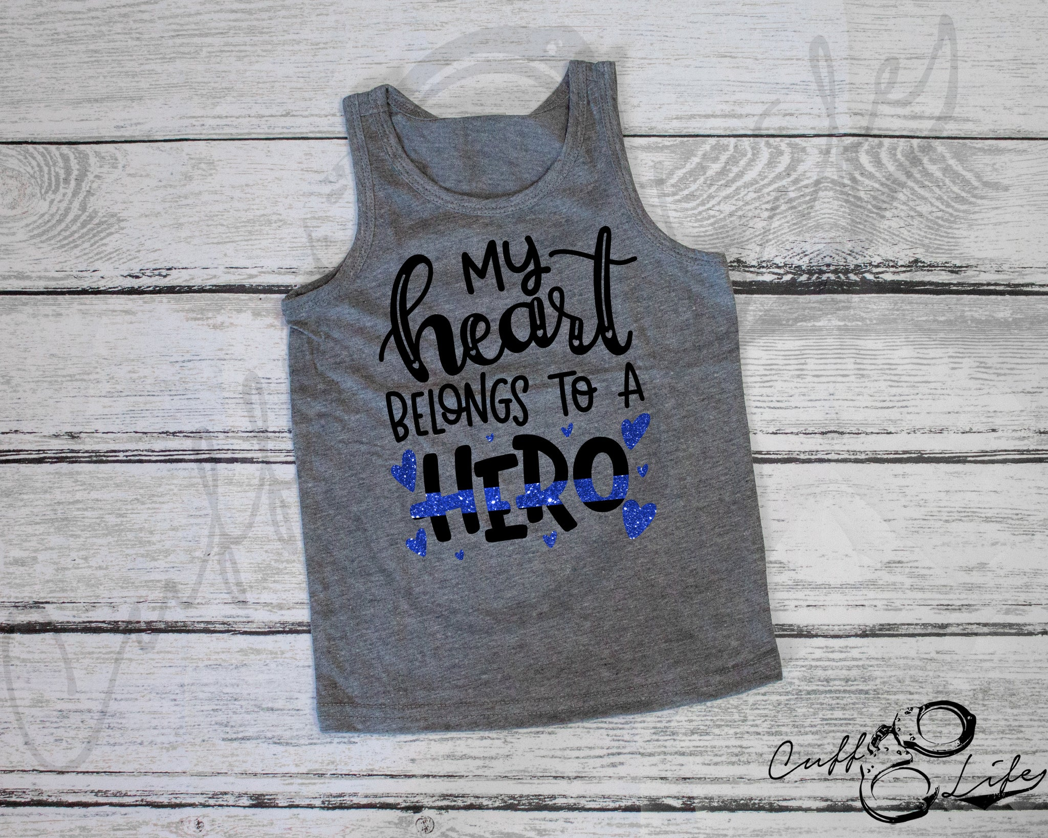 My Heart Belong to a Hero - Tank Top