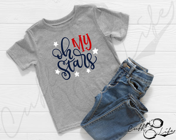 Oh My Stars - Toddler/Youth T-Shirt