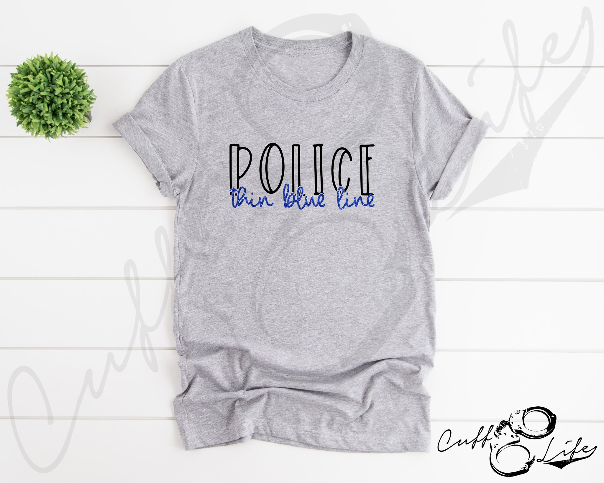 POLICE Thin Blue Line © - Unisex T-Shirt