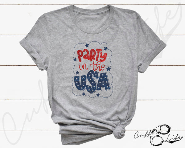Party in the USA - Unisex T-Shirt