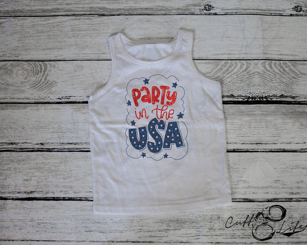 Party in the USA - Toddler/Youth Tank