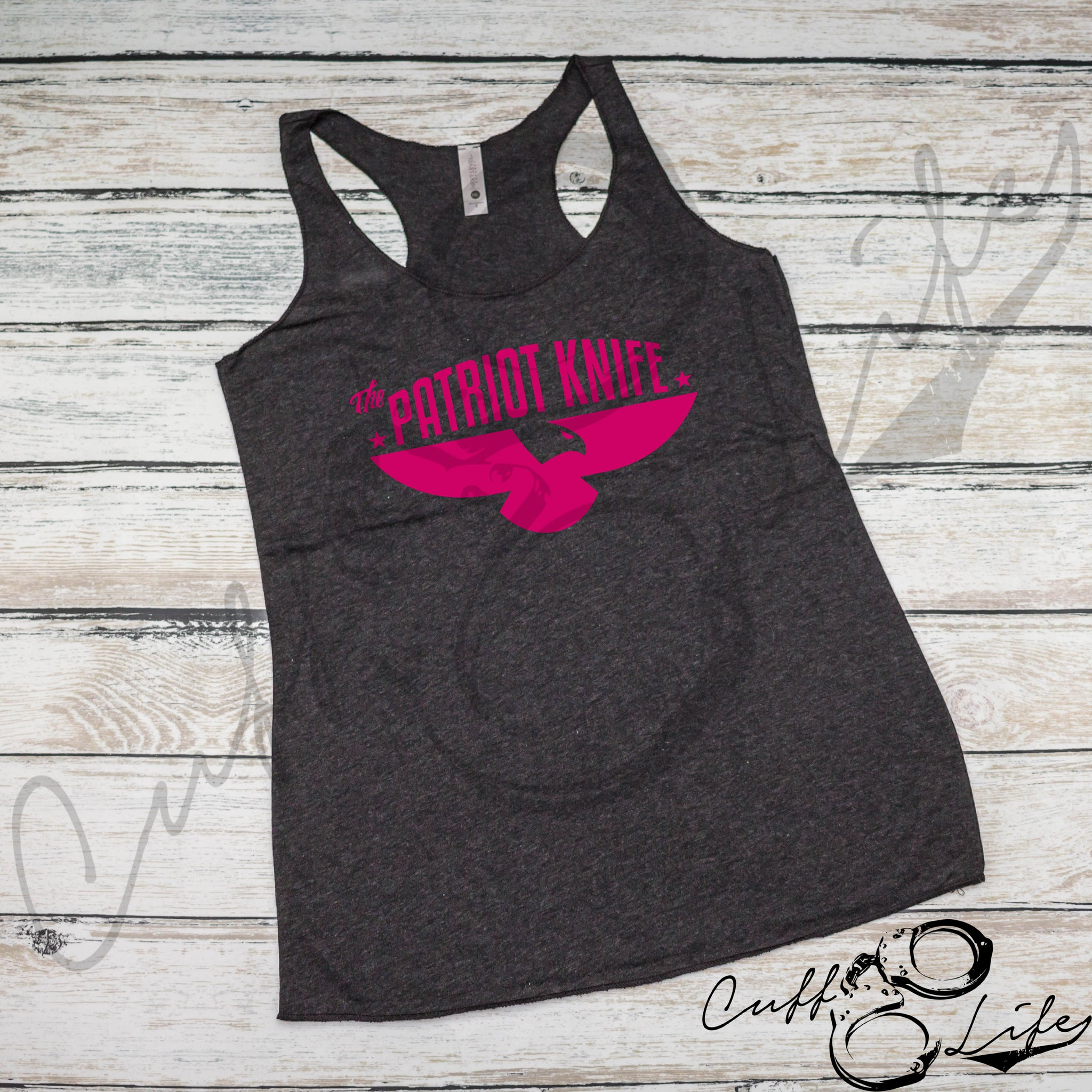 The Patriot Knife - Racerback Tank