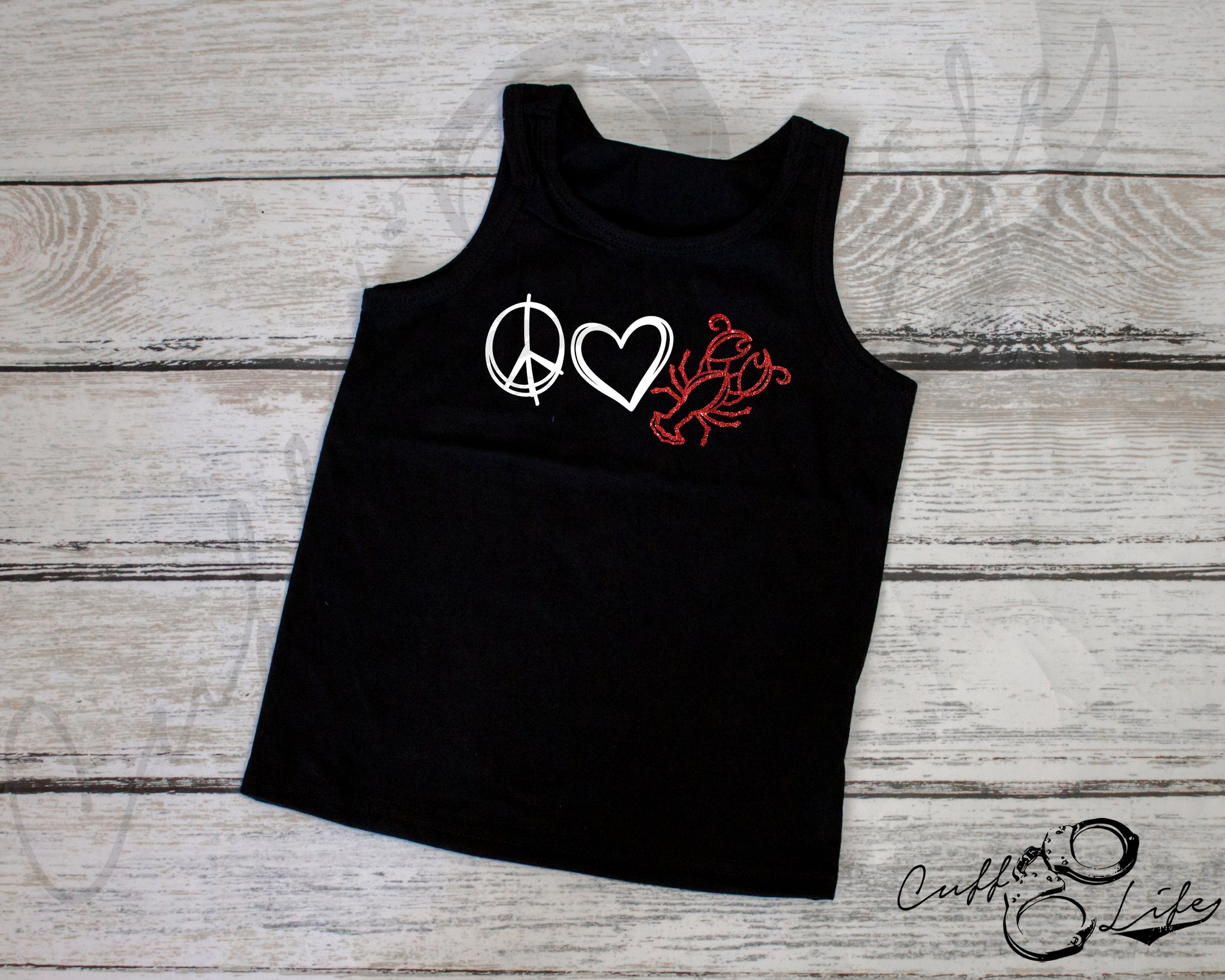 Peace Love Crawfish - Tank Top