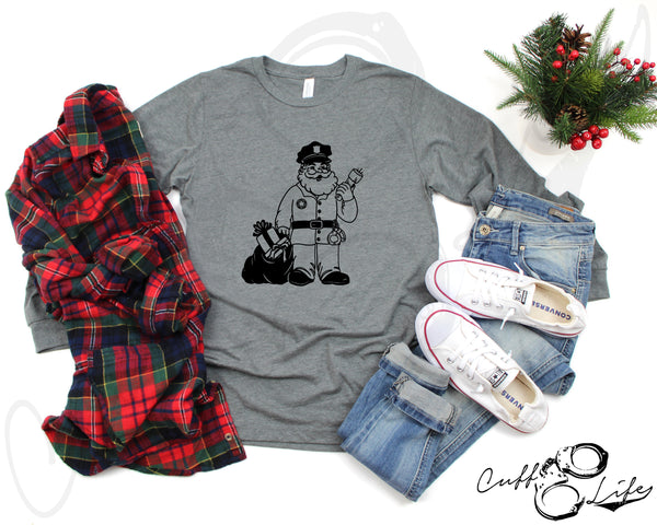Police Santa © - Long Sleeve Tee
