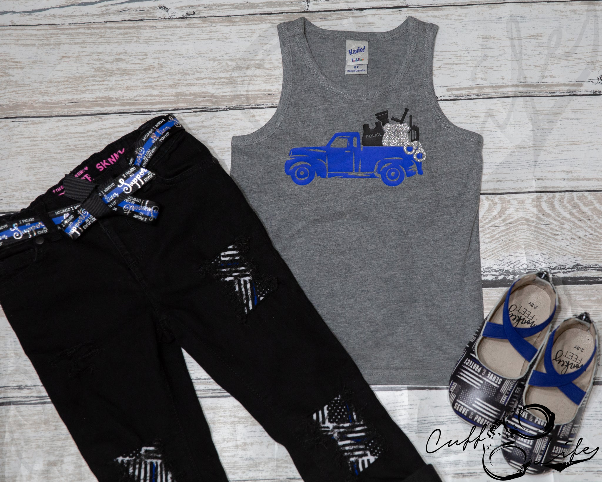 Police Truck - Tank Top