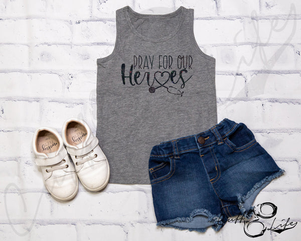 Pray For Our Heroes NURSE © - Tank Top