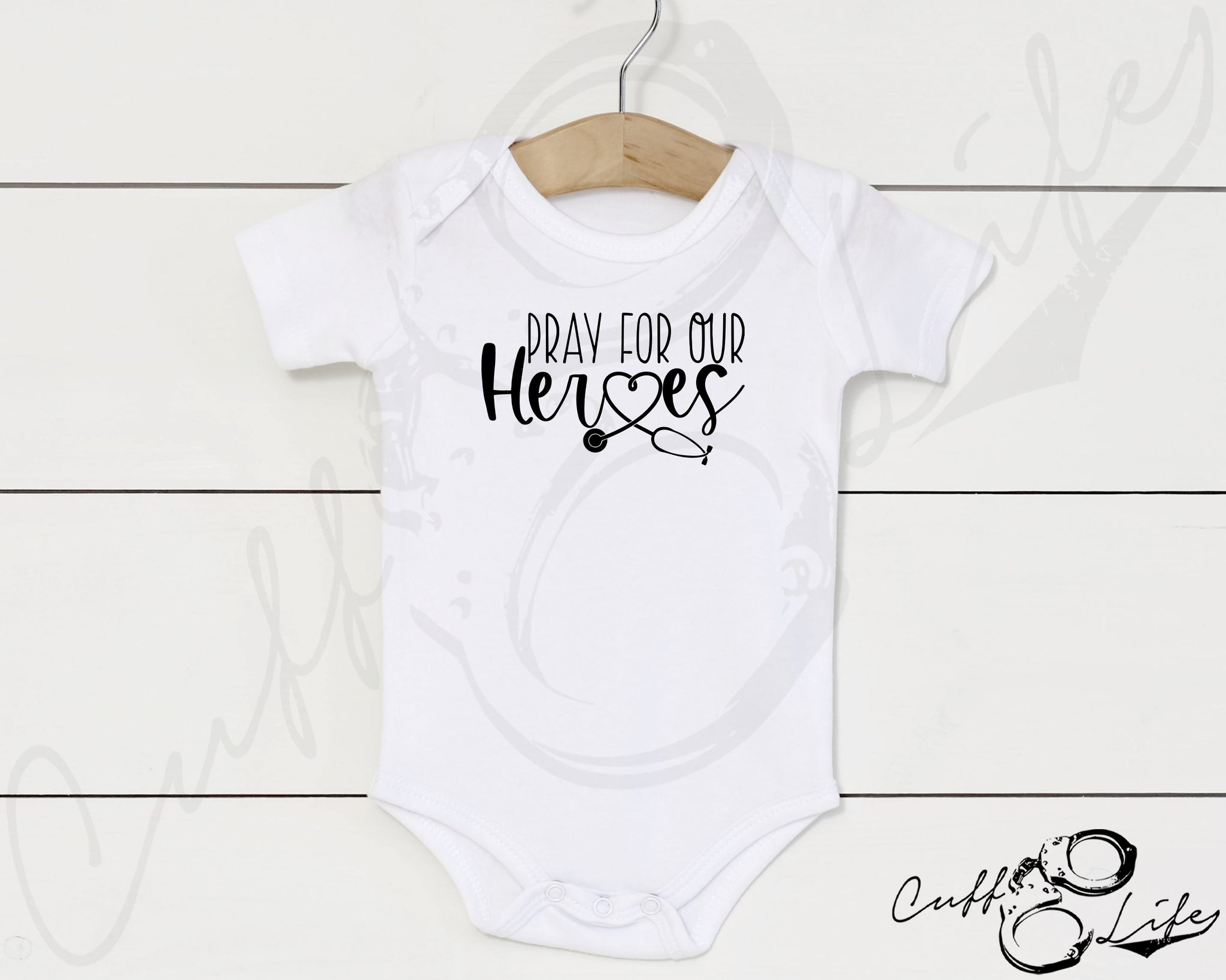 Pray For Our Heroes NURSE © - Infant Bodysuit